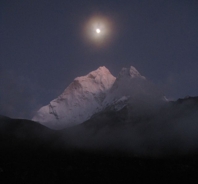 Himalayas at Night