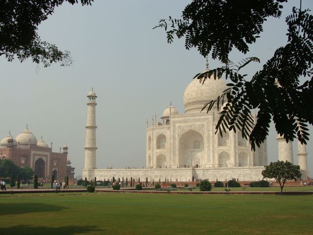 Taj and Mosque